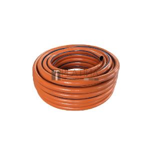 Locsolótömlő, 2 rétegű csavarodásmentes, 3/4 25 m, narancs, 210 g/m, Orangeflex