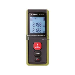 Extol távolságmérő, digitális lézeres; mérési tartomány: 0,05-40m, pontosság: +/- 2 mm