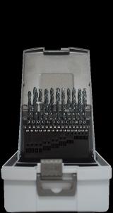 Abraboro HSS-R fémfúró készlet DIN 338, 41 részes