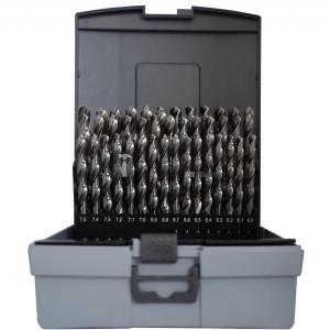 Abraboro HSS-GS fémcsigafúró készlet DIN 338, 41 részes