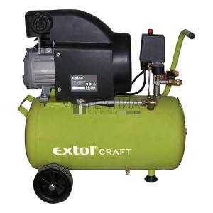 EXTOL CRAFT olajos légkompresszor, 1500W, 24l, 8bar