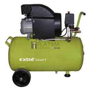EXTOL CRAFT olajos légkompresszor, 1500W, 50l , 8 bar