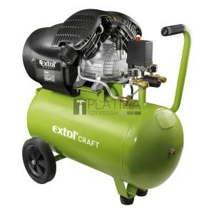 EXTOL CRAFT olajos légkompresszor, 2200W, 50l, 8 bar