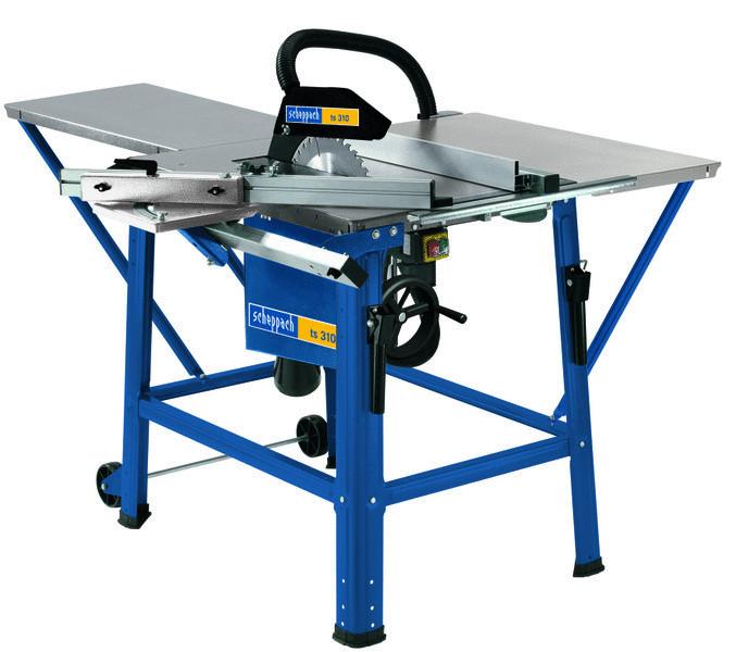 Scheppach TS 310 asztali körfűrész + állvány - 230V