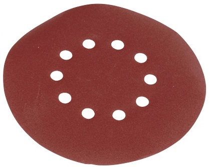 Scheppach kör alakú csiszolópapír szett (10db)