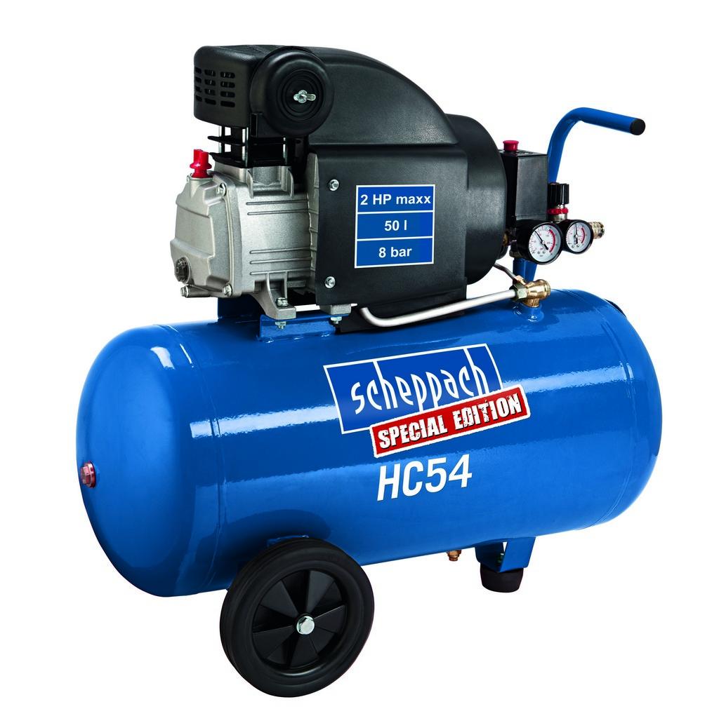 Scheppach HC 54 kompresszor 1,5kW, 50l, 8bar