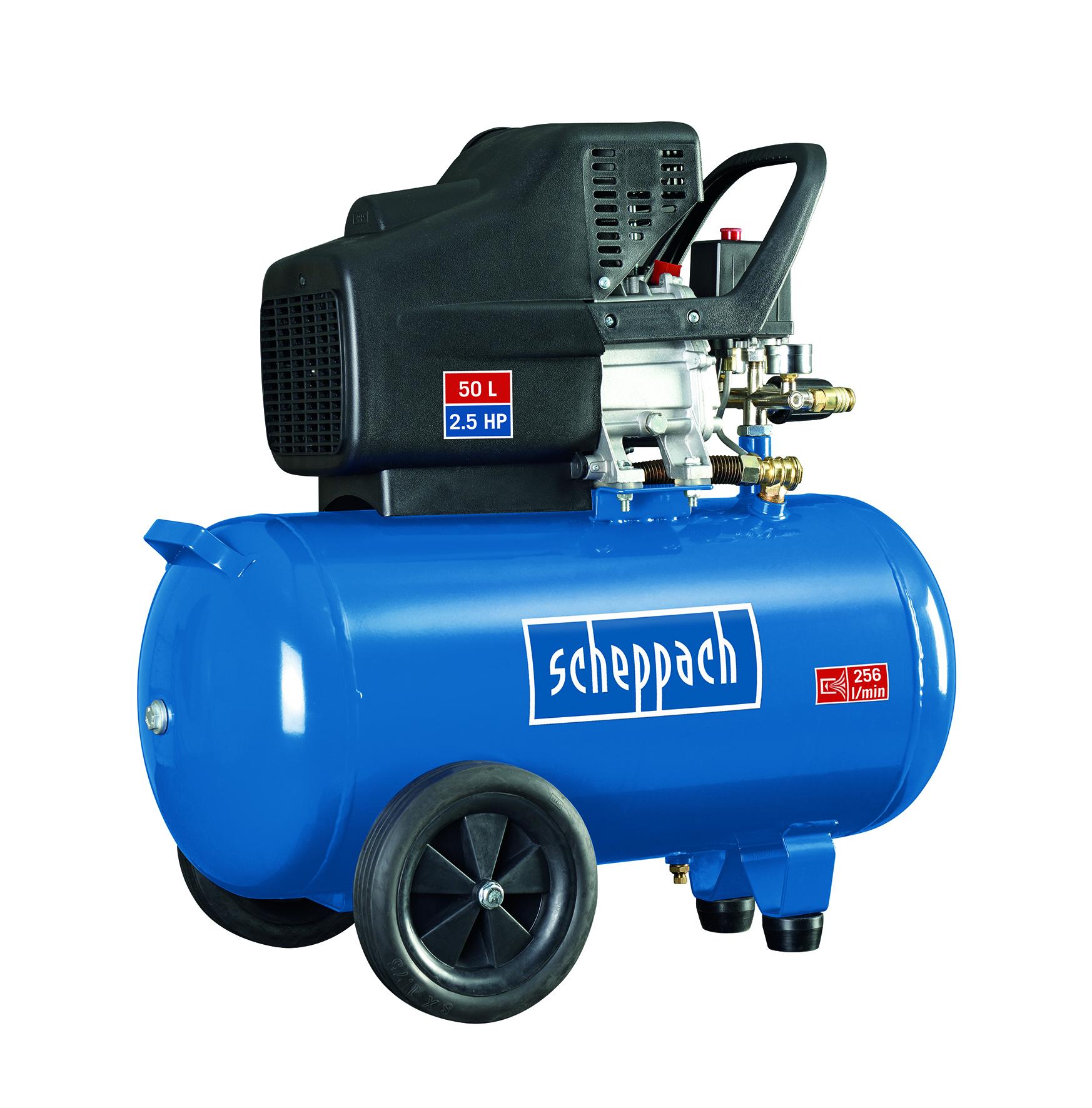 Scheppach HC 51 kompresszor (1,8kW, 50l, 10bar)