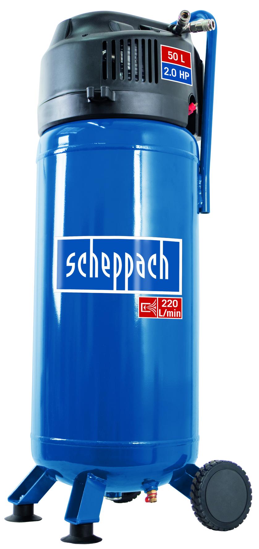 Scheppach HC 51 V olajmentes álló kompresszor (1,5kW, 50l, 10bar)