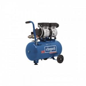 Scheppach HC 24 Si extra csendes olajmentes kompresszor 24L 8bar