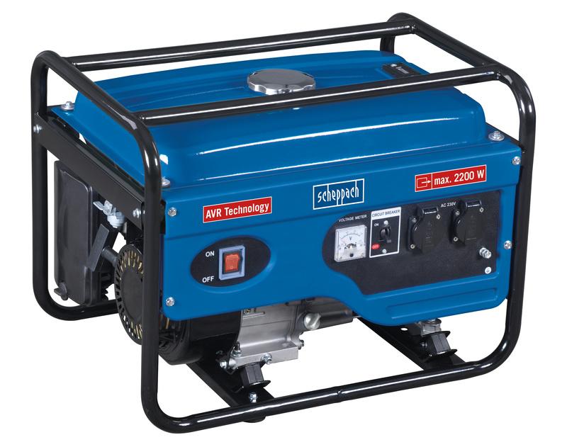 Scheppach SG 2600 AVR-es áramfejlesztő 2,2kW