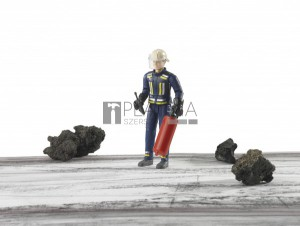 Bruder bworld tűzoltó figura kiegészítőkkel (60100)