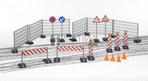 Bruder bworld építőipari tartozékok: korlátok, útjelzők (62007)