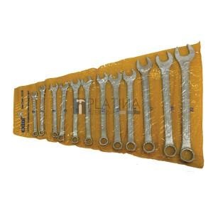 Extol Craft 12 részes csillag-villás kulcs készlet 6-22mm