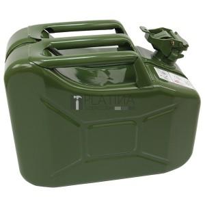 Marmonkanna, 10 literes (festett fém üzemanyagkanna), 160×340×280mm