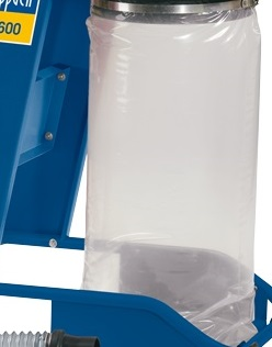 Scheppach műanyag zsák fűrészporhoz (DC12 / HA1600 / HD12)