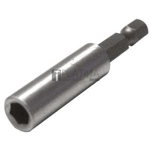 EXTOL PREMIUM bittartó szár fúrógéphez, mágneses ; 60mm, CV.