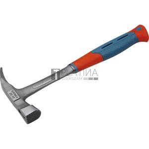 EXTOL palázó kalapács kovácsolt, mágneses ; egy darabban kovácsolt nyéllel, 576g, két komponensű gumírozott/műanyag markolat