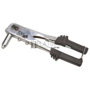 EXTOL popszegecshúzó fogó; 2,4-3,2-4-4,8mm, TÜV/GS 6500N húzóerő, 250mm