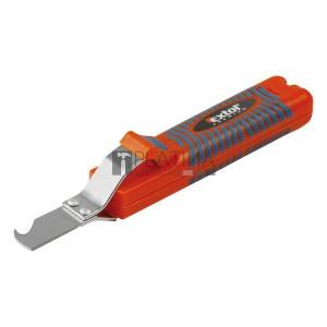 EXTOL PREMIUM kábel csupaszító kés, 8-28mm