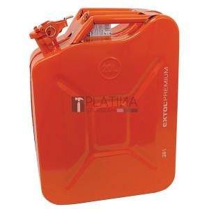 EXTOL Premium marmonkanna 20 literes (fém üzemanyagkanna, benzinkanna)
