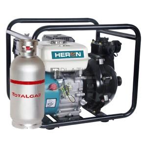 Heron EPPH 15-10G benzin-gázmotoros öntözőszivattyú 6,5 LE (300 l/perc)