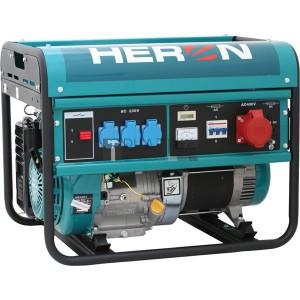 Heron EGM-60 AVR-3 háromfázisú áramfejlesztő (max. 6,0 kVA)
