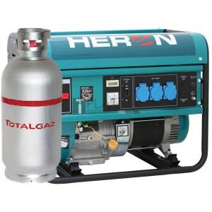 Heron EGM-55/48 AVR-1G egyfázisú áramfejlesztő (max. 5,5kVA)