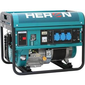 Heron EGM-55 AVR-1 egyfázisú áramfejlesztő (max. 5,5 kVA)