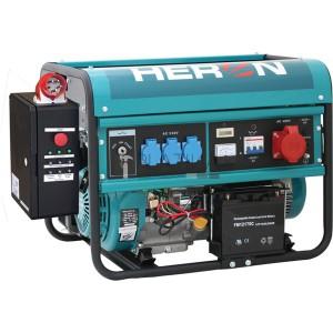 Heron EGM-60 AVR-3E háromfázisú áramfejlesztő (max. 6 kVA) + HAV-3 indítóautomatika + GSM,  elektromos öninditó