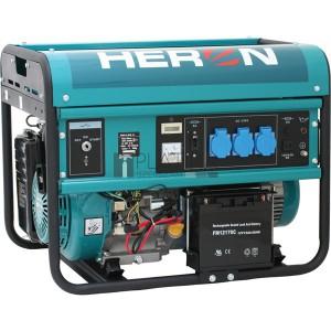 Heron EGM-55 AVR-1E egyfázisú áramfejlesztő (max. 5,5 kVA) + elektromos önindító