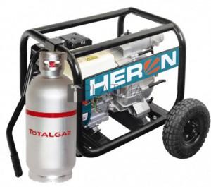 Heron EMPH 80 WG benzin-gázmotoros szennyvíz szivattyú 6,5 LE (1.300 l/perc)