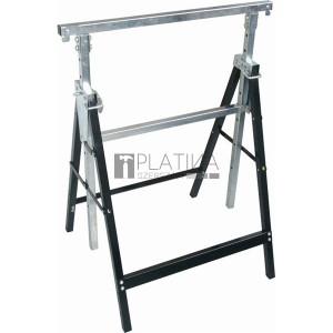 EXTOL asztalosbak, állítható. összecsukható; 810mm-1300mm, max. terhelés: 300kg, saját tömeg: 6,5 kg, festett fémlábak