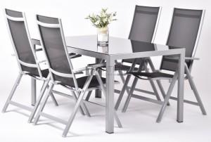 Creador Avalis 4+1 részes alumínium kerti bútor készlet