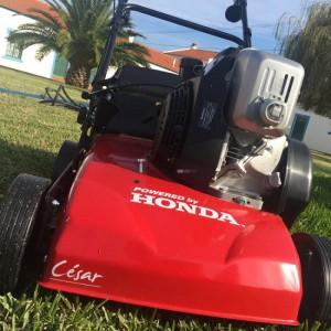 Honda César 40H benzines gyepszellőztető