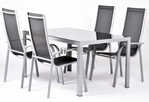 Creador Edina 4+1 részes alumínium kerti bútor készlet