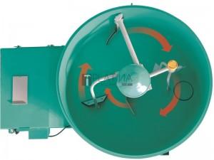 IMMER MIX 360 vontatható elektromos habarcskeverő 360l / 3kW / 400V