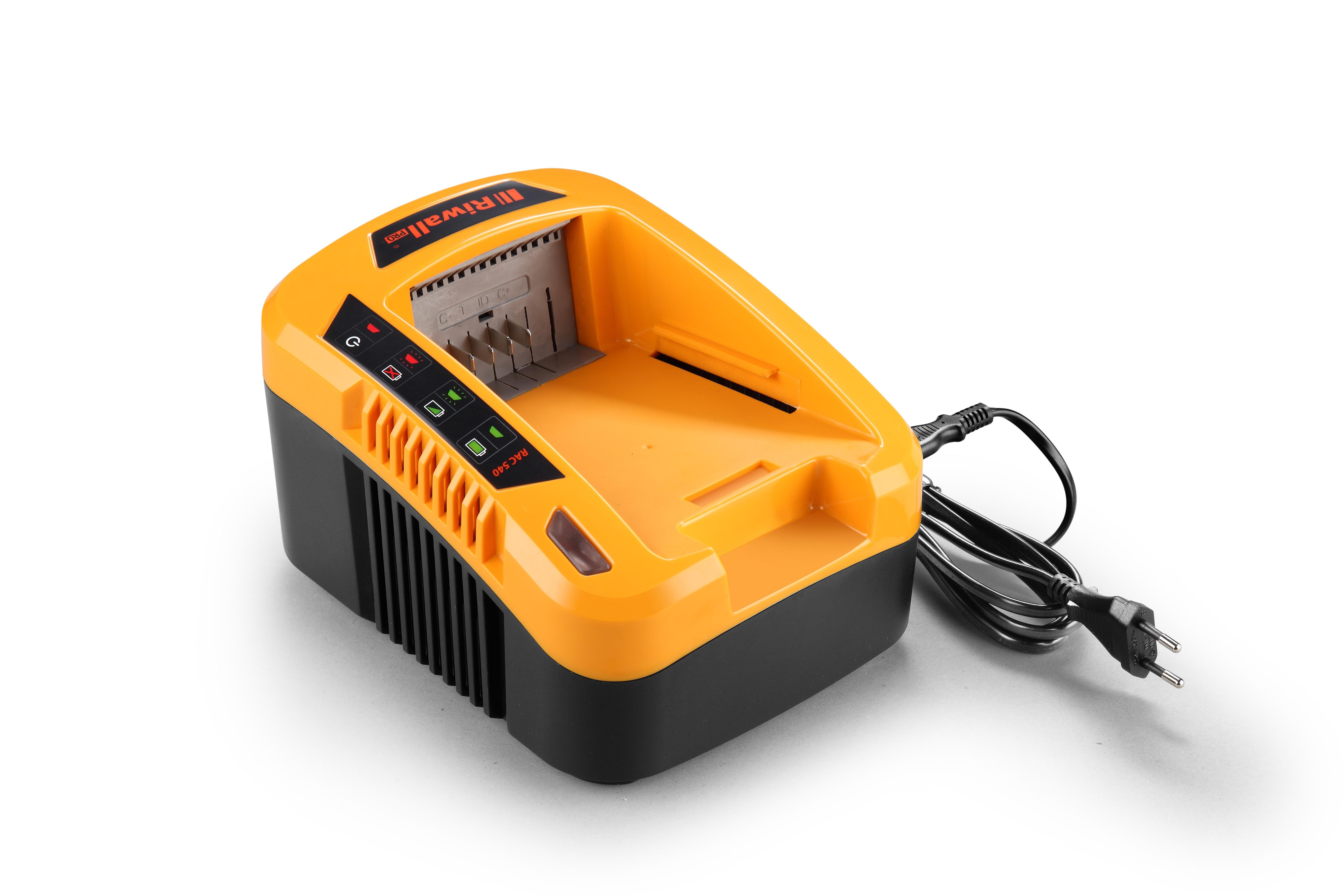 Riwall PRO RAC 540 akkumulátor töltő 40V 5A