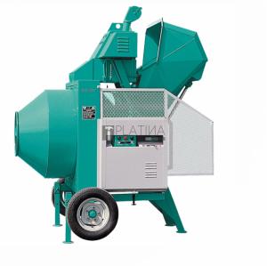 IMER BIR330/ID félautomata betonkeverő dízel motorral 330l / 6,5m³/h / 7,5Le