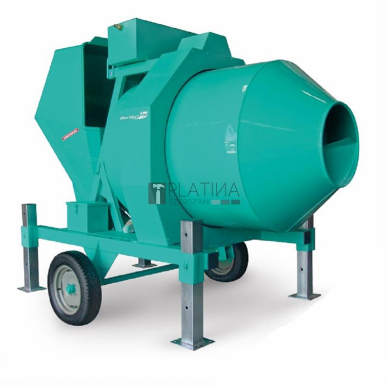 IMER BIR500/ID félautomata betonkeverő 400V / 500l / 4,1kW / 12m³/h