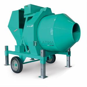 IMER BIR1000/ID félautomata betonkeverő dízel motorral 1000l / 18m³/h / 34,5Le